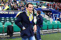 Renaud LAVILLENIE - 02.05.2015 - Clermont / Toulon - Finale European Champions Cup -Twickenham<br />Photo : Dave Winter / Icon Sport