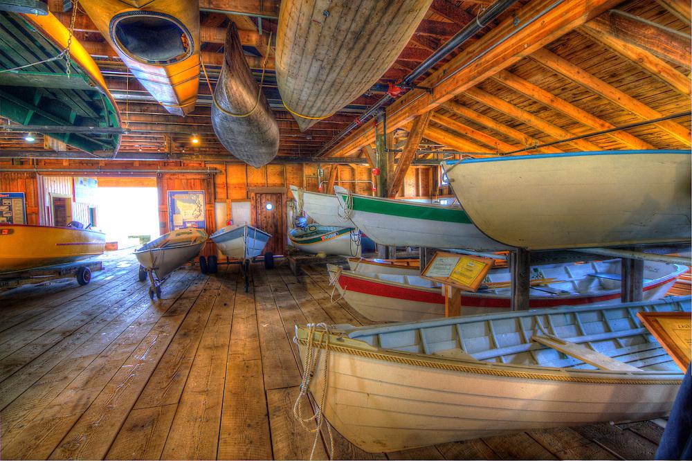 Wooden Boat House, Camano Island, WA
