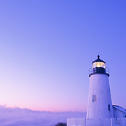 Pemaquid Lighthouse in the winter