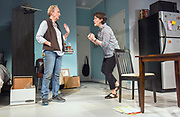 Photo by Mara Lavitt<br /> New Haven, CT<br /> April 26, 2017<br /> Technical rehearsal for Yale Repertory Theatre's production of &quot;Mary Jane.&quot; Emily Donahoe , left, and Kathleen Chalfant.