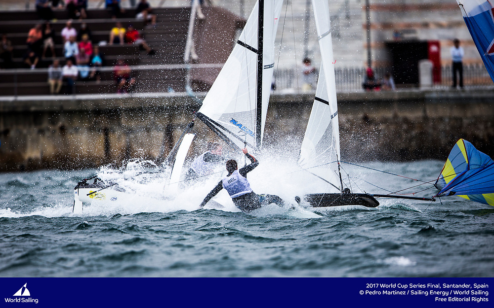 Santander, Spain, will host the Final of Sailing's 2017 World Cup Series from 4-11 June 2017. More than 250 sailors from 43 nations will race across the ten Olympic events as well as Open Kiteboarding. ©Pedro Martinez / Sailing Energy / World Sailing