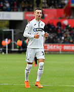 Bersant Celina (10) of Swansea City during the EFL Sky Bet Championship match between Swansea City and Reading at the Liberty Stadium, Swansea, Wales on 27 October 2018.