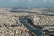 11 Seine river aerial view