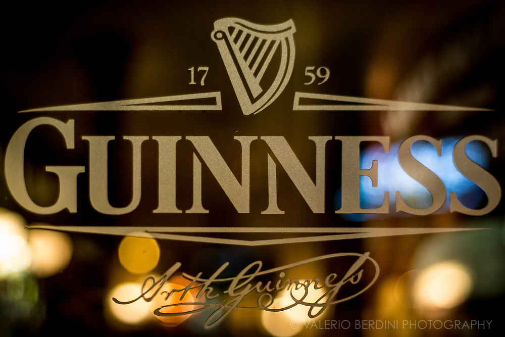 Guinness, world famous Irish stout is a symbol of Ireland since 1759 the year it was first brewed