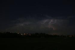 Spring storm over Lexington , Tuesday, May 13, 2014 in Lexington.