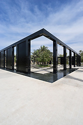The Wisdom Garden at New Mushrif Central Park in Abu Dhabi United Arab Emirates