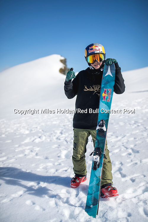 Nico Porteous poses for a portrait in Wanaka, New Zealand, on September 6, 2016 // Miles Holden/Red Bull Content Pool // P-20160907-04685 // Usage for editorial use only // Please go to www.redbullcontentpool.com for further information. //