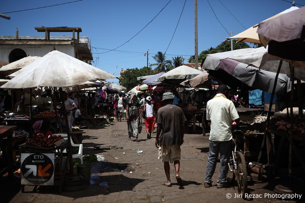 MADAGASCAR ANTSIRANANA 3APR13 -  Local market scene in the city of Antsiranana, Madagascar.<br /> <br /> <br /> <br /> jre/Photo by Jiri Rezac / Greenpeace