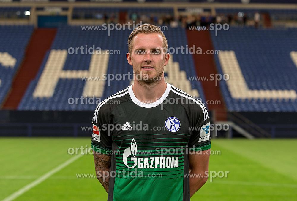 23.06.2015, Veltins-Arena, Gelsenkirchen, GER, 1. FBL, Schalke 04, Fototermin, im Bild Ralf Faehrmann (Schalke) // during the official Team and Portrait Photoshoot of German Bundesliga Club Schalke 04 at the Veltins-Arena in Gelsenkirchen, Germany on 2015/06/23. EXPA Pictures &copy; 2015, PhotoCredit: EXPA/ Eibner-Pressefoto/ Hommes<br /> <br /> *****ATTENTION - OUT of GER*****