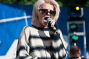 Sky Ferreira performs at Bunbury Music Festival at Sawyer Point in Cincinnati, Ohio on July 12, 2013.