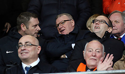 Peterborough United Manager Steve Evans watches from the Directors Box alongside Chairman Darragh MacAnthony - Mandatory by-line: Joe Dent/JMP - 19/01/2019 - FOOTBALL - Kenilworth Road - Luton, England - Luton Town v Peterborough United - Sky Bet League One