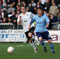 Photo:Mark Stephenson,Herford united v Port vale.<br />