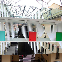 Daniel Buren at MACRO in Rome