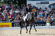 Nick van Laer - Sir Donovan 3<br /> FEI World Breeding Dressage Championships for Young Horses 2012<br /> © DigiShots