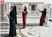 LFI.GALLERY PHOTOGRAPHER 24.07.2018 |<br /> For an assignment from his agency, Belgian photographer Jean-Michel Clajot took pictures in the Louvre Abu Dhabi. Soon he noticed visitors were more busy taking selfies than looking at the art. Tearsheet - Jean-Michel Clajot - Photojournalist