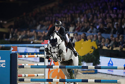 Wathelet Gregory, (BEL), Mjt Nevados S<br /> Open Sires of the World Zangersheide<br /> Vlaanderens Kerstjumping Memorial Eric Wauters<br /> © Dirk Caremans<br /> 27/12/2016