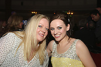 The Football Extravaganza celebrating 20 years of the Premier League, in aid of Nordoff Robbins. Amy Macdonald and manager Sarah Erasmus.Wednesday, April.11, 2012 (Photo/John Marshall JME)