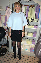 LADY EMILY COMPTON at a party to celebrate the opening of children's store Chippi Hacki at 8 Motcomb Street, London, SW1 on 24th November 2004.<br />
