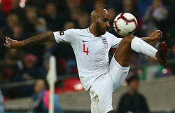 November 15, 2018 - London, United Kingdom - England's Fabian Delph in Action.during the friendly soccer match between England and USA at the Wembley Stadium in London, England, on 15 November 2018. (Credit Image: © Action Foto Sport/NurPhoto via ZUMA Press)
