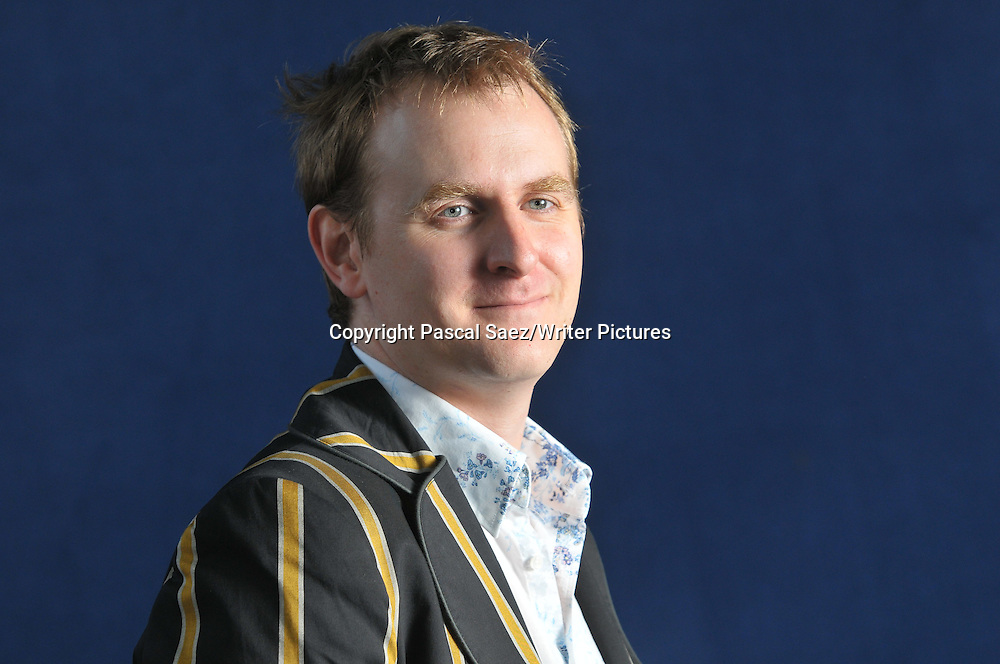 Nick Harkaway at The Edinburgh International Book Festival 2008<br /> <br /> Copyright Pascal Saez/Writer Pictures<br /> contact +44 (0) 208 224 1564<br /> sales@writerpictures.com<br /> www.writerpictures.com