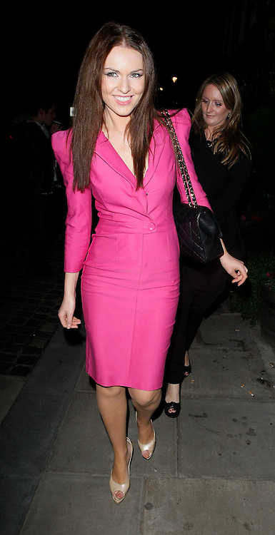 26.JANUARY.2010 - LONDON<br /> <br /> ZOE SALMON LEAVING THE RADIO TIMES COVER PARTY. <br /> <br /> BYLINE: EDBIMAGEARCHIVE.COM<br /> <br /> *THIS IMAGE IS STRICTLY FOR UK NEWSPAPERS &amp; MAGAZINES ONLY*<br /> *FOR WORLDWIDE SALES &amp; WEB USE PLEASE CONTACT EDBIMAGEARCHIVE - 0208 954 5968*