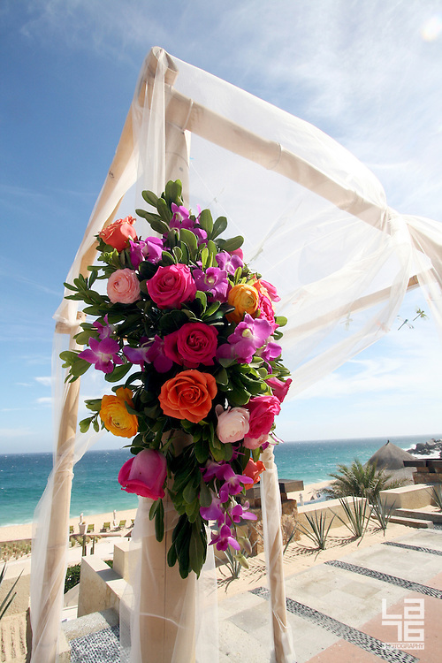LA76 photography was hired by Capella Pedregal Resort & Residences in Cabo San Lucas to photograph a wedding venue of Chelsea and Marc's destination wedding in Cabo San Lucas.