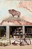 Antique store, Broadus, Montana