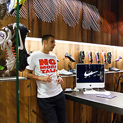No More Talk, England Football Players, Nike Town, London