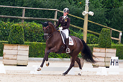 Luyten Laura, BEL, Dark Chocolate<br /> European Championships Dressage<br /> Roosendaal 2017<br /> © Hippo Foto - Leanjo de Koster