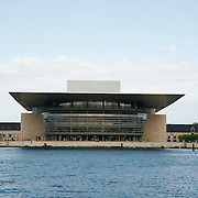 The Copenhagen Opera House or Operaen is the national opera house of Denmark, and among the most modern opera houses in the world. The Operaen was donated to the Danish state by the A.P. M&oslash;ller and Chastine Mc-Kinney M&oslash;ller Foundation in August 2000. Moller was co-founder of Maersk shipping company.<br /> <br /> Photography by Jose More