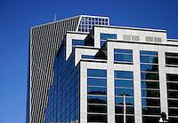 Canada Life Building on Scarth Street, with Hill Tower in background, Regina Saskatchewan