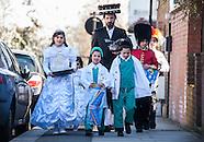 Jewish Orthodox Purim 2014 celebrations