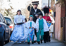 Jewish Orthodox Purim 2014 celebrations