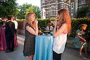 OCTAVIA DICKENSON; LARA PILKINGTON, Tate Britain Summer Party 2009. Millbank. London. 29 June 2009