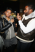 28 January 2011- New York, NY- l to r: Jean Grae and Pharoah Monch at Bilal Produced by Jill Newman Productions held at Highline Ballroom on January 28, 2011 in New York City.  Photo Credit: Terrence Jennings