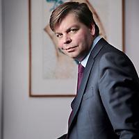 Nederland, Amsterdam , 2 april 2015.<br /> Sander Zondag is fondsbeheerder van BNP Paribas Obam. Eerder was hij verantwoordelijk voor de aandelenportefeuilles bij APG en werkte Zondag ook bij ING IM, Aegon (US & Latin America Fund) en ABN Amro (beheerder AA Latin American Fund en Asian Tiger Fund).<br /> Foto:Jean-Pierre Jans