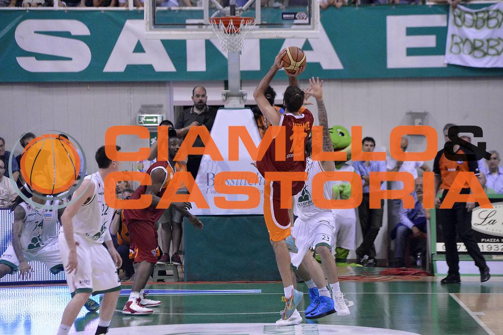 DESCRIZIONE : Roma Lega A 2012-2013 Montepaschi Siena Acea Roma playoff finale gara 4<br /> GIOCATORE : Luigi Datome<br /> CATEGORIA : Tiro Controcampo<br /> SQUADRA : Acea Roma<br /> EVENTO : Campionato Lega A 2012-2013 playoff finale gara 4<br /> GARA : Montepaschi Siena Acea Roma<br /> DATA : 17/06/2013<br /> SPORT : Pallacanestro <br /> AUTORE : Agenzia Ciamillo-Castoria/GiulioCiamillo<br /> Galleria : Lega Basket A 2012-2013  <br /> Fotonotizia : Roma Lega A 2012-2013 Montepaschi Siena Acea Roma playoff finale gara 4<br /> Predefinita :