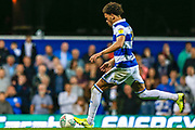 Queens Park Rangers defender Lee Wallace (3) takes his penalty, penalty shoot-out, during the EFL Cup match between Queens Park Rangers and Bristol City at the Kiyan Prince Foundation Stadium, London, England on 13 August 2019.