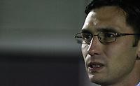 Photo: Paul Thomas.<br /> Bury v Weymouth. The FA Cup. 21/11/2006.<br /> <br /> Chris Casper, Bury manager.