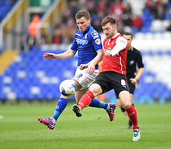 Birmingham City's Stephen Gleeson competes with Rotherham United's Lee Frecklington - Photo mandatory by-line: Paul Knight/JMP - Mobile: 07966 386802 - 03/04/2015 - SPORT - Football - Birmingham - St Andrew's Stadium - Birmingham City v Rotherham United - Sky Bet Championship