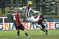 Kwadwo Asamoah Juventus.Calcio Cagliari vs Juventus .Serie A - Parma 21/12/2012 Stadio Ennio Tardini.Football Calcio 2012/2013.Foto Federico Tardito Insidefoto
