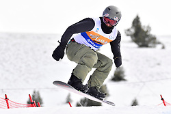 SPIVEY Michael, SB-UL, USA, Banked Slalom at the WPSB_2019 Para Snowboard World Cup, La Molina, Spain