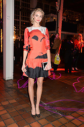 TAMSIN EGERTON at the YSL Beauty: YSL Loves Your Lips party held at The Boiler House,The Old Truman Brewery, Brick Lane,London on 20th January 2015.