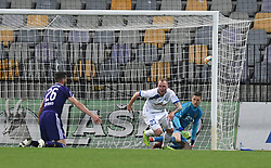 Zan Benedicic of Celje scores during football match between NK Maribor and NK Celje in Round #24 of Prva liga Telekom Slovenije 2018/19, on March 30, 2019 in stadium Ljudski vrt, Maribor, Slovenia. Photo by Milos Vujinovic / Sportida
