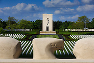 An overview of the Lorraine American Military Cemetery, in Saint Avold, France. (Photo by Warrick Page/ABMC)