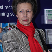 HRH Princess Anne Royal tour of the London Boat Show