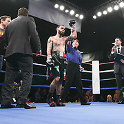 "Light-Heavyweight weight boxing pro David ""one two Murray of Wilmington (L) defeats Light-Heavyweight weight boxing pro Jihad St. John Friday, Nov 21, 2014 at The Case Center on The River Front in Wilmington, Del."