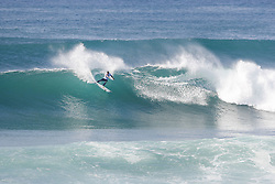 October 12, 2017 - Rookie Frederico Ezekiel Lau of Hawaii will surf in Round Two of the 2017 Quiksilver Pro France after placing third in Heat 12 of Round One at Hossegor. (Credit Image: © WSL via ZUMA Press)
