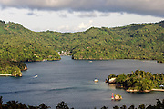 Lembeh Strait, a polluted yet critter-filled shipping channel in North Sulawesi, Indonsia.