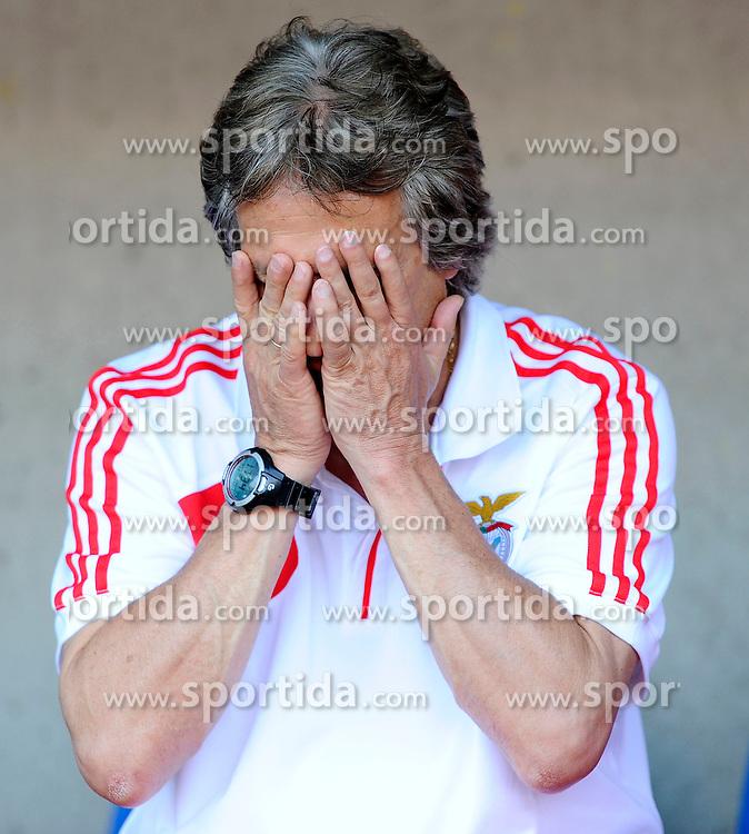Football: Portugal, Benfica Lisboa.Trainer Jorge Jesus.© pixathlon..ITALY OUT !